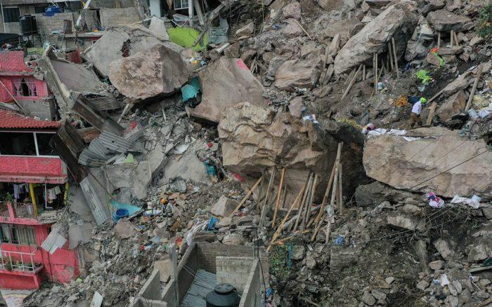 Encuentran cuerpo de niña desaparecida en el derrumbe del Cerro del Chiquihuite