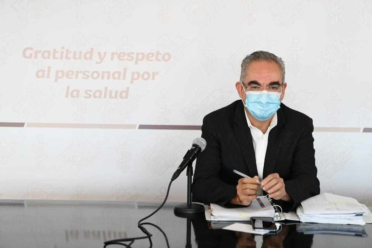 Durante el fin de con 56 decesos por coronavirus en Puebla, indicó la Secretaría de Salud