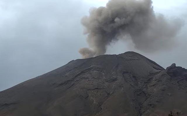 Explosión en Popocatépetl alcanza 3 mil metros; semáforo se mantiene en amarillo fase 2: Cenapred