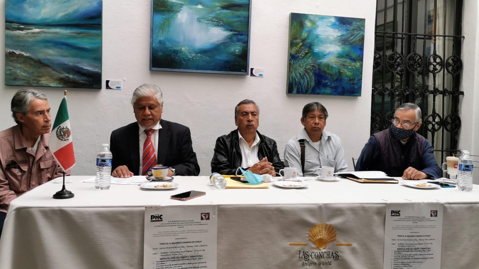 Realizarán foro de la Izquierda y Morena en Puebla