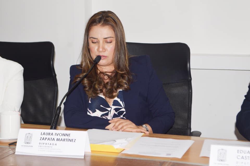 Pide la diputada Laura Zapata Martínez se garanticen los servicios de salud