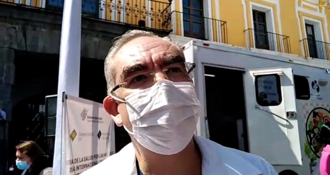 Puebla, por ahora libre de variante de Covid-19 denominada Mu: Salud