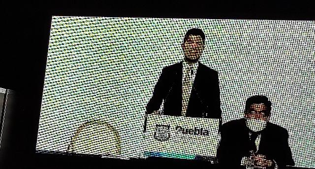 Video desde Puebla: Quien se desvíe del criterio de eficiencia y honestidad se va de mi gobierno, advirtió Eduardo Rivera