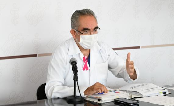 Video desde Puebla: Registra Salud 16 decesos más por coronavirus en el estado y van 15 mil 716