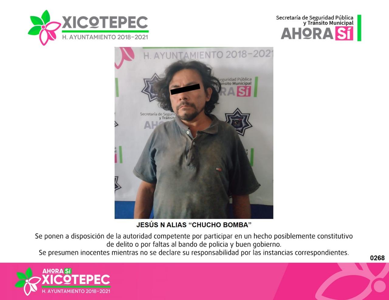 Detiene la policía municipal de Xicotepec a presunto Abusador Sexual
