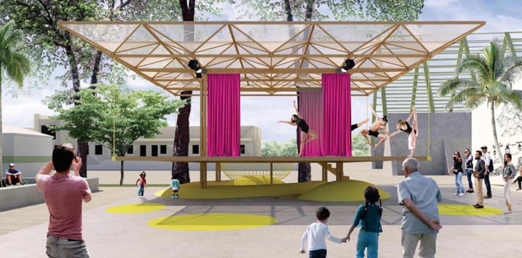 """Video Desde Tapachula: Listo para Inaugurarse el Teatro del Parque de la Estación con la obra """"Las que se quedan"""""""