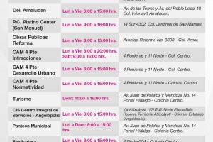 Este miércoles reabren las cajas del ayuntamiento de Puebla, informan
