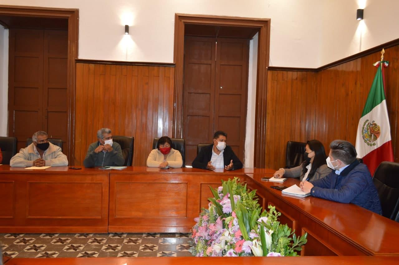 Ayuntamiento de San Pedro Cholula inicia acercamiento con las juntas auxiliares