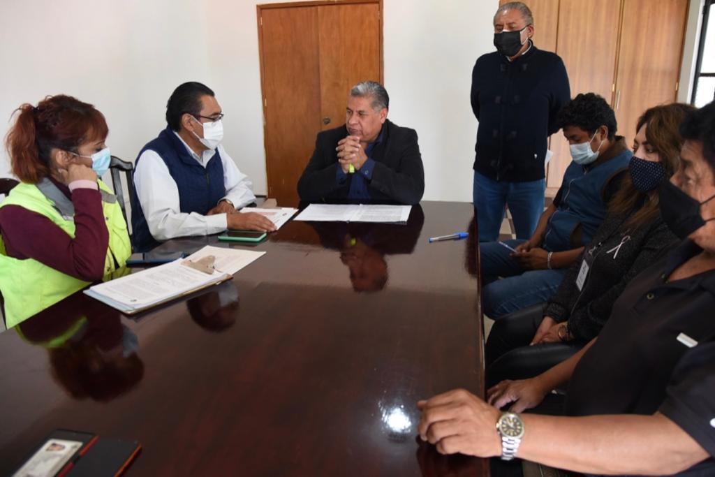 Se instalan comités de participación ciudadana en comunidades para transparentar obras en Tlaxcala Capital