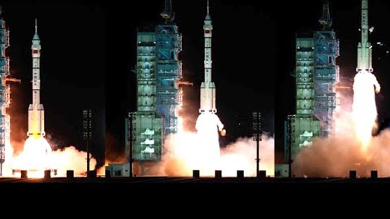 CGTN: La estación espacial china da la bienvenida a la tripulación del Shenzhou-13 para una estadía de seis meses