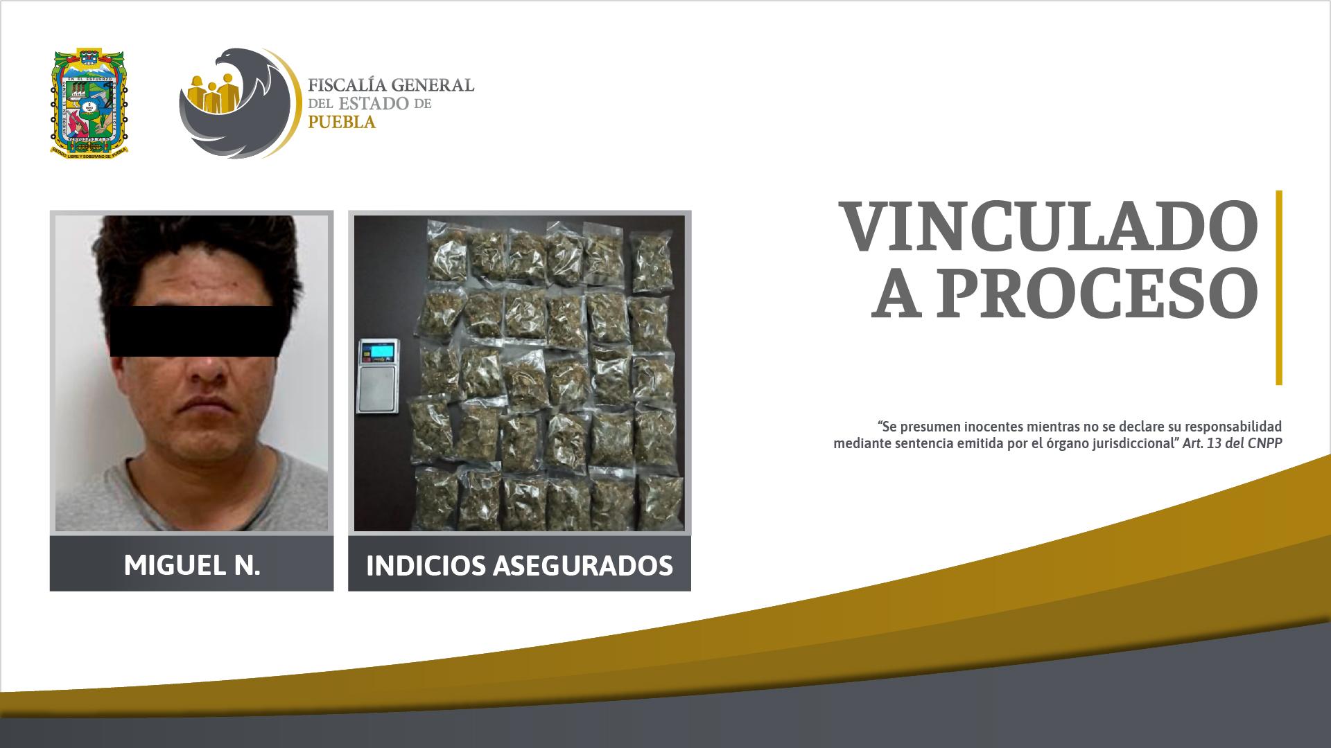 Prisión preventiva contra detenido durante cateo en Palmar de Bravo