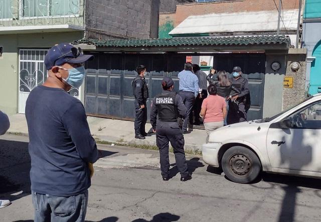 Apoya Juzgado Municipal de Tlaxcala diligencia de restitución de una propiedad en conflicto.
