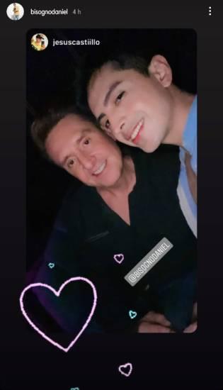 Daniel Bisogno ya no esconde su amor y publica fotos junto a su joven novio