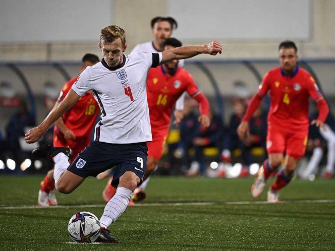Inglaterra se acerca al Mundial de Qatar 2022