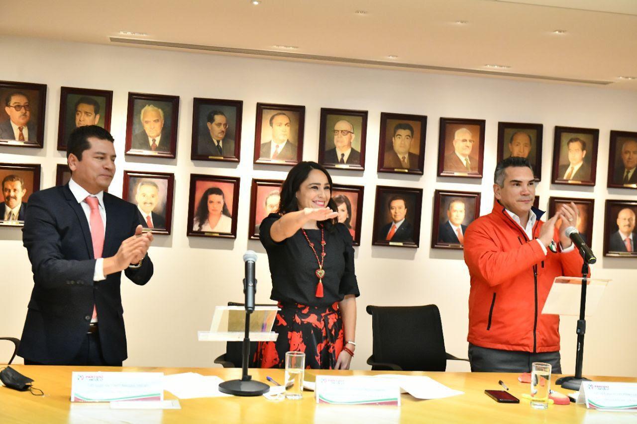 Abigail Arredondo, nueva dirigente del PRI en Querétaro